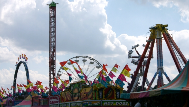 Rides at the Dutchess County Fair